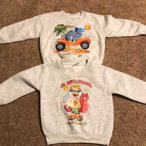 2 Toddler Sweatshirts